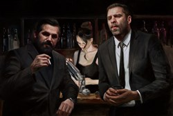 Tension Building by Vincent Kamp - Limited Edition Canvas on Board sized 30x20 inches. Available from Whitewall Galleries